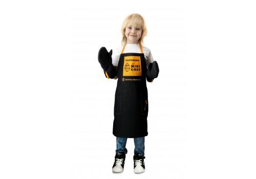 Новинка! Набор детский MINI CHEF (фартук+прихватки кухонные)